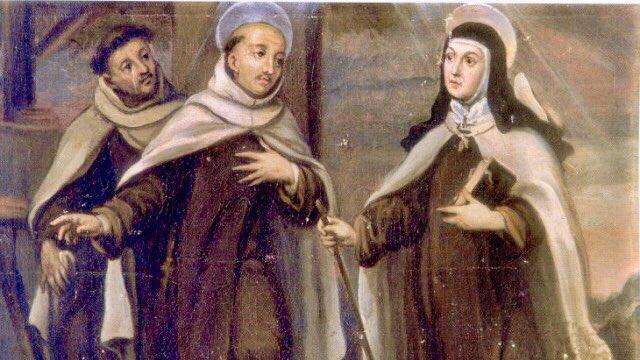 John and Teresa meet at Duruelo