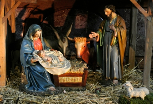 Nativity scene Stephansdom Austria pfarrmedien Flickr 15933039957_7e1e62bd5f_o