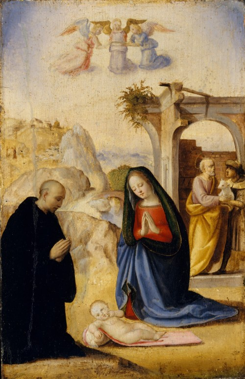Nativity with saints Ridolfo Ghirlandaio MetMuseum DT235074 (2)