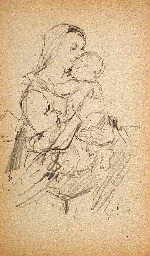 Madonna and Child FORSYTH William J IMAmuseum
