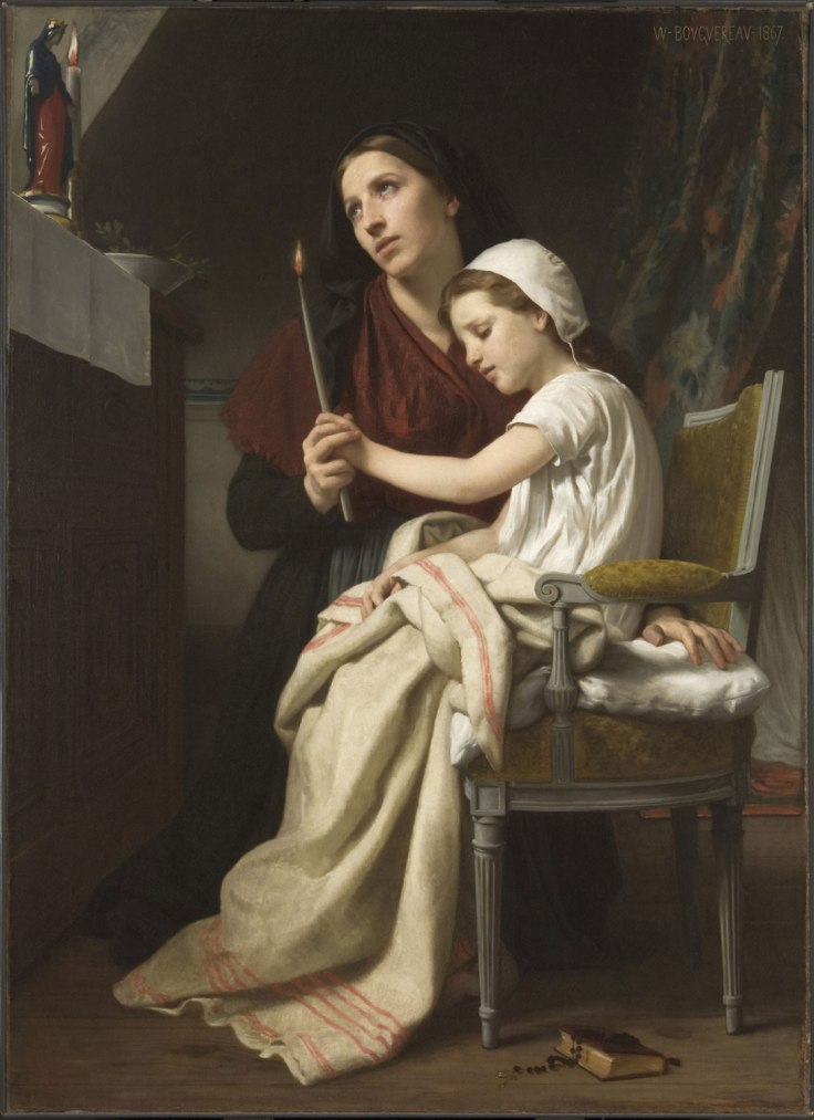 BOUGUEREAU The Thank Offering PhilaMuseum